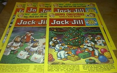 6 Jack And Jill Comics 1977, Inc Xmas Edition