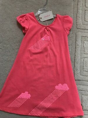 Billie Blush Jersey Dress, Neon Fuschia, Age 8, Nwt