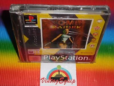 Ps1 Tomb Raider Playstation 1 Pal Game New Factory Sealed Eidos Ricochet Lable