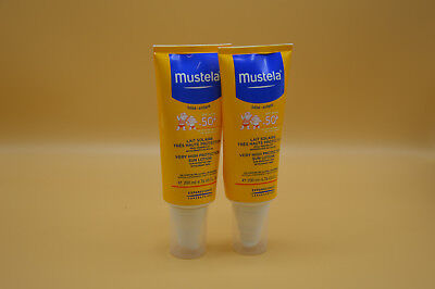 2x Mustela Very High Protection Sonnenmilch LSF 50+ 200 ml