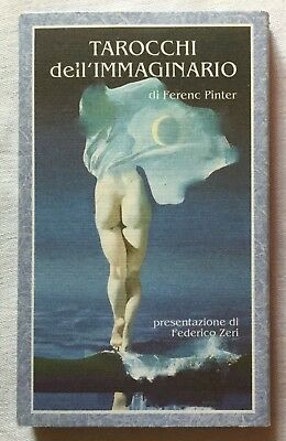 Tarot of the Imagination by Pinter 1991, LARGE majors only Art Edition, OOP HTF