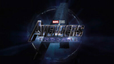 Movie Avengers Endgame Silk Fabric Poster 24 X14 inch