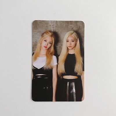 Loona Monthly Girl Kim Lip & Jinsoul Official Photocard