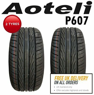 2x 235/35 R19 91W Aoteli P607 UHP Car Tyres.'B' rated wet grip.