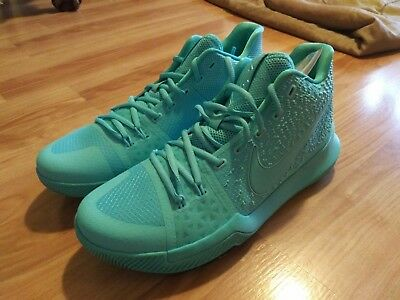 online retailer 1964a 158ef NIKE KYRIE 3 AQUA KYRIE IRVING MENS BASKETBALL Shoes   Size 10 US   New