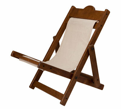 SPECIAL OFFER! Charlie Bears Driftwood Brown DECK CHAIR (BRAND NEW RRP £30)