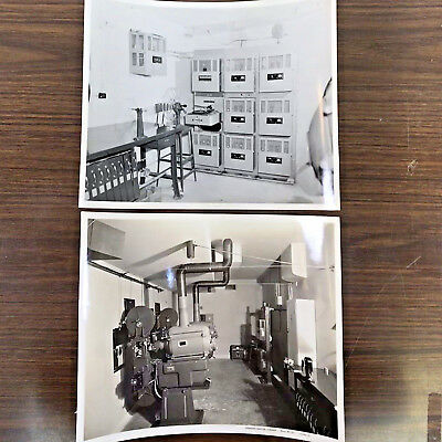 Vintage Photographs of Movie Theatre Projection Booths & Projector Equipment