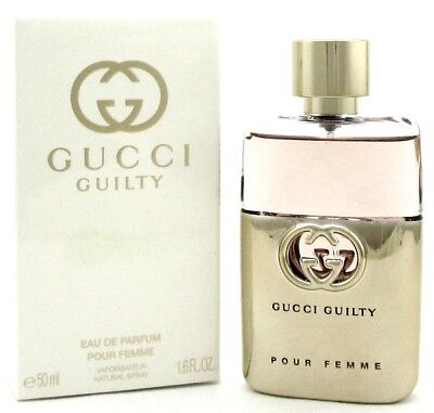 Guilty Black By Gucci For Women Perfume Edt Spray 16 Oz 50 Ml