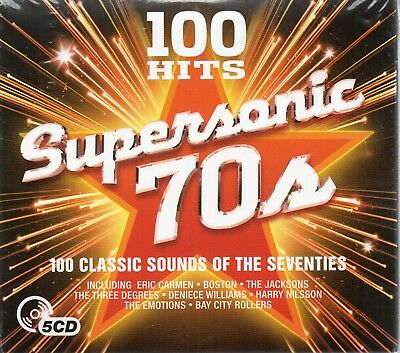 100 Hits-Supersonic 70's - Various Artists (CD 2017)  New