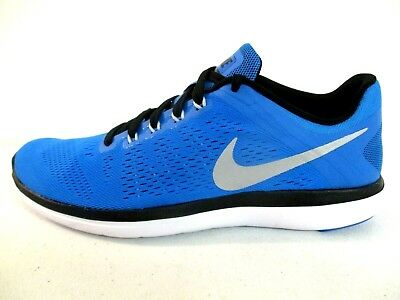 600566b7db85a1 Nike Mens Flex 2016 RN Athletic Running Shoes Sneakers Blue 830369 400 Size  10