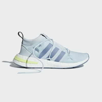 cheap for discount 5bcca b9191 Womens Originals Arkyn Blue Tint  B28112  Adidas W Boost Mesh Raw Grey  White