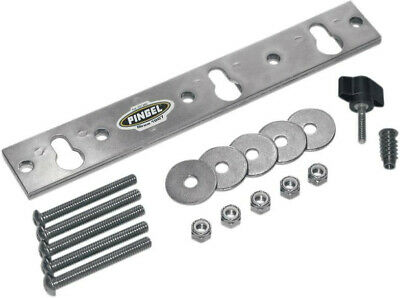 Removable wheel chock mount plate kit for corrugated floors - Pingel