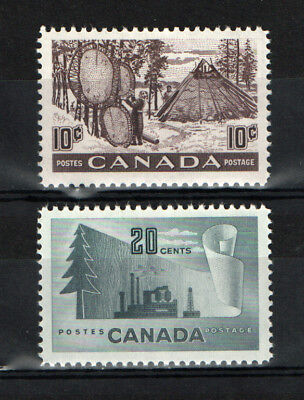 Canada   Scott 301  and  316     Mint Never Hinged
