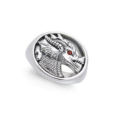 King Arthur Pendragon .925 Sterling Silver Sealing Ring by Peter Stone