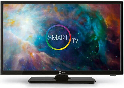 SMART TV 23.6 Pollici Televisore Telesystem LED HD Android TV HDMI USB Sound24 L
