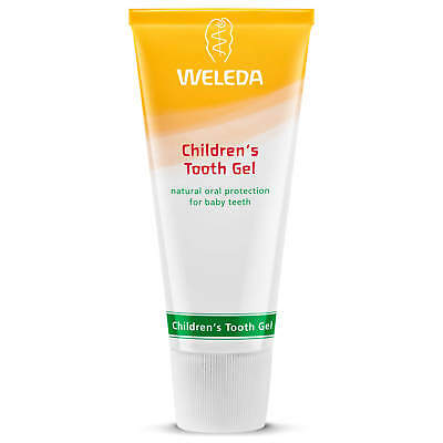 Weleda Children's Tooth Gel Natural Fluoride Free Toothpaste For Kids 50Ml