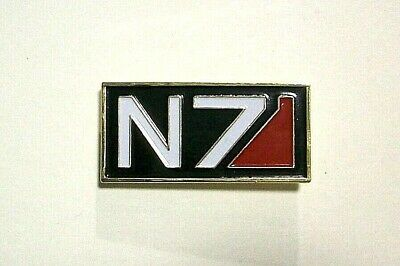 2 N7 Mass Effect car window stickers ps3 ps4 x box Zombie Decal 2x7 WHITE RED