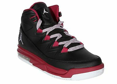 Girls Grade School Jordan Air Deluxe 807714-009 Black White Sizes 9Y-9.5 77e946de2