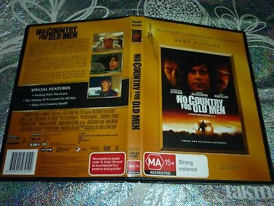No Country For Old Men (Dvd, Ma15+) (136666 A)