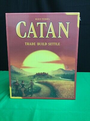 Settlers of Catan Board Game (Sealed Box)