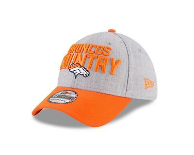 8cb4f9106142e8 NEW ERA DENVER BRONCOS 39THIRTY Draft On Stage Official Hat Cap NFL ...