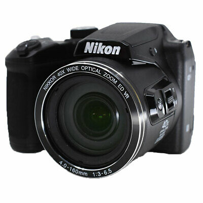 Nikon COOLPIX B500 16.0 MP 40x Zoom Digital Camera (Black) - Value Deal