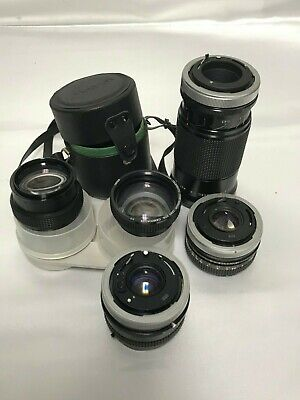 KIRON 30-80MM F/3 5-4 5 Macro MC Manual Focus Photo Camera Lens +