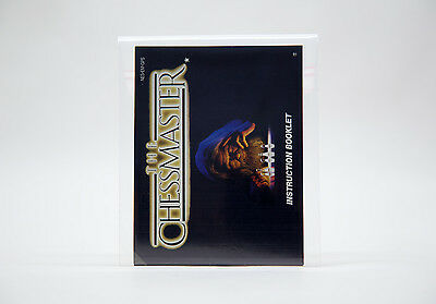 Manual / Mode d'Emploi The ChessMaster (NES) - Mint / Comme Neuf