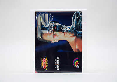 Manual / Mode d'Emploi T2 Terminator Judgment Day (NES) - Mint / Comme Neuf