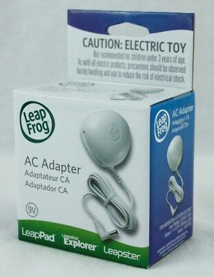 LeapFrog AC Power Adapter LeapPad Tablet Leapster Explorer