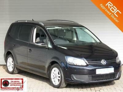 2013 63 Volkswagen Touran 1.6 Se Tdi Bluemotion Technology 5D 103 Bhp Diesel