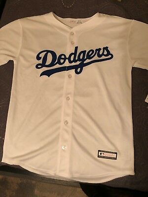 Los Angeles Dodgers Cody Bellinger  35 Cool Base YOUTH L Majestic Jersey -  White bae026c05