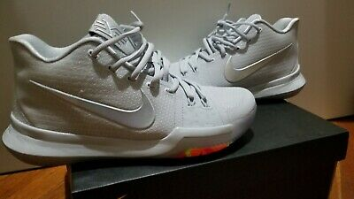 half off ade0e 27e02 NIKE KYRIE 3 TS Time To Shine, Platinum, Brand New, Men's Size 8.5