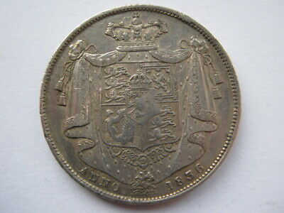 1836 William IIII Half Crown VF cleaned in the past