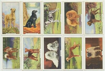 GALLAHER - 1938 : Dogs, 2nd Series Complete Set (48) Cigarette Cards