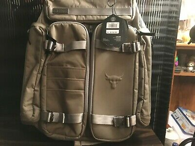 950d819c181 Under Armour Project Rock Duffle Bag Back Pack Brand New With Tags The Rock