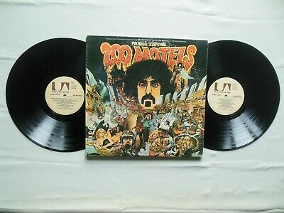 From 1971: FRANK ZAPPA- 200 MOTELS UA 9956- 1st Ed Pressing, Poster, Booklet EX+