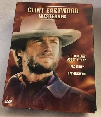 WESTERNER BY CLINT Eastwood (The Outlaw Josey Wales / Pale Rider /  Unforgiven /