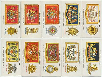 PLAYER, John- 1924 : Drum Banners & Cap Badges Complete Set (50) Cigarette Cards