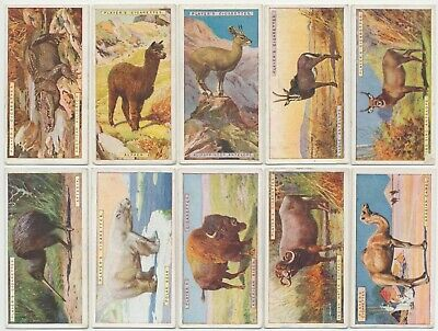 PLAYER, John - 1924 : Natural History Complete Set (50) Cigarette Cards