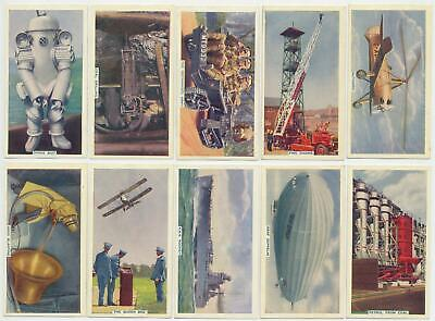 PHILLIPS - 1936 : This Mechanized Age 1st  Complete Set (50) Cigarette Cards