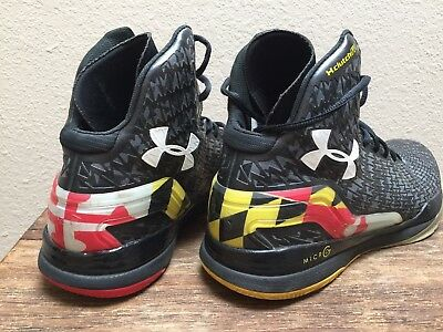 buy popular 6250e 56739 UNDER ARMOUR UA Clutchfit Drive 2 MARYLAND TERPS Flag Basketball Shoes Mens  10.5