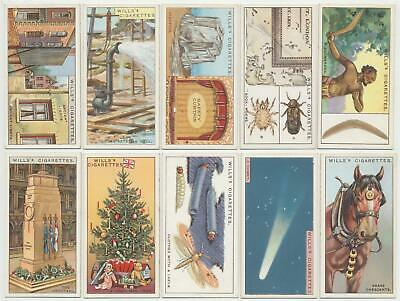 WILLS UK - 1926 : Do You Know, 3rd Series Complete Set (50) Cigarette Cards