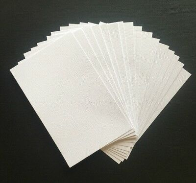 "A5 ""WHITE"" TEXTURED CARDSTOCK, 20 pack, 216gsm"