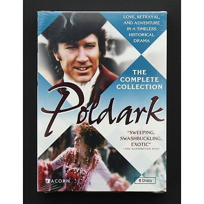 Poldark The Complete Collection 8 Disc DVD Movie Set, Series 1 & 2