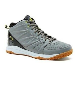 4a5311c36c0 And1 Men s Guard 2.0 Low Profile Basketball Shoes Sneakers Gray Green Size  11