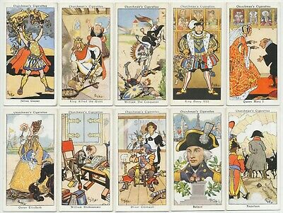 CHURCHMAN - 1937 : Howlers Complete Set (40) Cigarette Cards