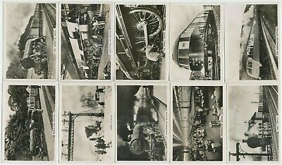 PATTREIOUEX - 1938 : British Railways [Photos] Part Set (45/48) Large Cig. Cards
