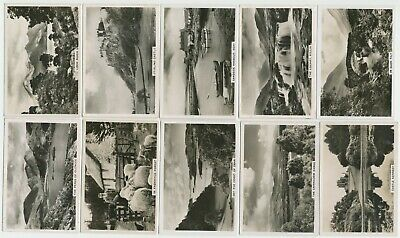 PATTREIOUEX- 1939: Beautiful Scotland [Photos] Part Set (45/48) Large Cig. Cards