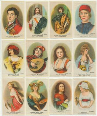 PHILLIPS - 1924 : Old Masters (B.D.V.) (Silk) (32) Medium Cigarette Cards